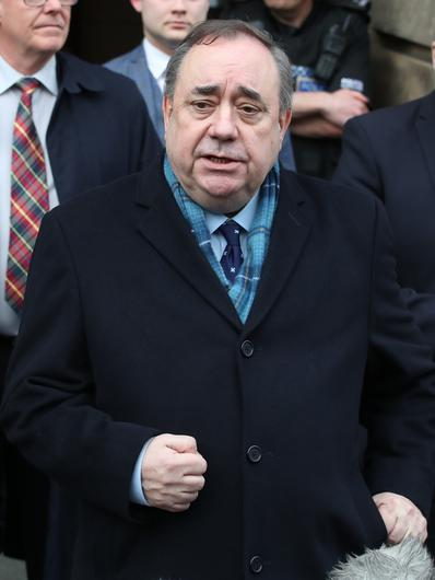 Alex Salmond is due to appear before a Holyrood committee on Wednesday (Jane Barlow/PA)