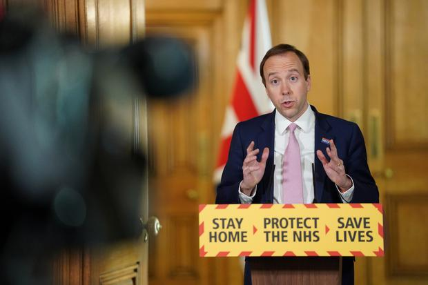 Health Secretary Matt Hancock has suggested international holidays will not be possible this summer (Pippa Fowles/10 Downing Street/Crown Copyright/PA)