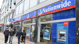 Nationwide Building Society is trialling new branch opening times during the coronavirus outbreak to help the elderly and vulnerable manage their money with a dedicated hour each morning (PA)