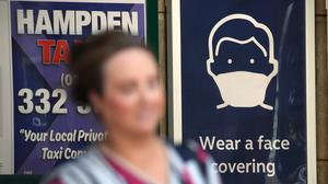 Face coverings will become mandatory on public transport in Scotland from Monday (Andrew Milligan/PA)