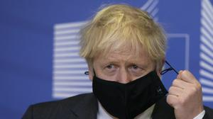 Prime Minister Boris Johnson in Brussels, Belgium (Aaron Chown/PA)