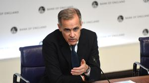 Bank of England Governor Mark Carney said the current issues were different to the 2008 financial crisis (Peter Summers/PA)