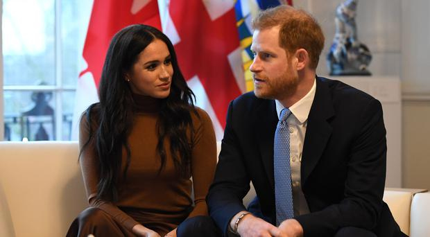 The Duke and Duchess of Sussex have been criticised for their latest move (Daniel Leal-Olivas/PA)