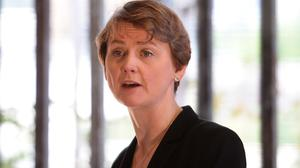 Shadow home secretary Yvette Cooper says the Government is failing to get justice for victims of sexual attacks and abuse
