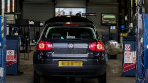 Vehicle owners in Britain will be granted a six-month exemption from MOT testing (Liam McBurney/PA)