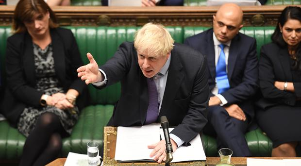Boris Johnson will ask MPs on Monday to grant him an election (Commons/PA)