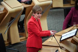 First Minister Nicola Sturgeon has been pushing for a second independence referendum for Scotland (Andy Buchanan/PA)
