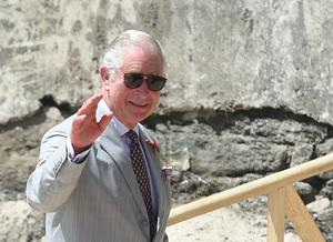 Charles is on the fourth day of his trip to west Africa with the Duchess of Cornwall (Joe Giddens/PA)