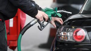 The ONS said falling fuel prices contributed to the slowdown in inflation (Lewis Whyld/PA)