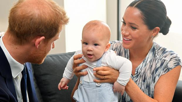 Harry, Meghan and Archie (Dominic Lipinski/PA)