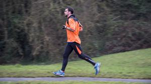 Stock image of a jogger running around Clifton Downs in Bristol (Ben Birchall/PA)