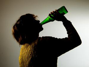 Around 20 young people under 18 were caught drinking