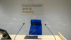 The Manchester Arena Inquiry is being held at Manchester Magistrates' Court (Peter Byrne/PA)