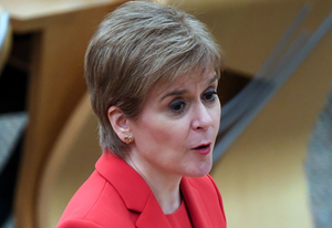 First Minister Nicola Sturgeon. (Andy Buchanan/PA)