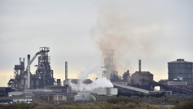 Port Talbot houses the UK's largest steelworks (Ben Birchall/PA)