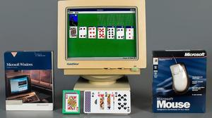 Solitaire was first launched on Windows 3.0 (Microsoft/PA)