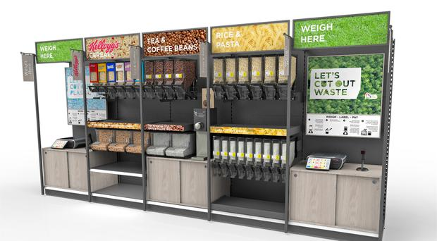What an Asda refillable station could look like (Asda/PA)