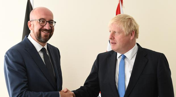 European Council president Charles Michel said he expects a vote on the UK's Brexit agreement 'as soon as possible' after PM Boris Johnson's election victory (Stefan Rousseau/PA)