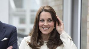 The Duchess of Cambridge is due to give birth next month (Arthur Edwards/The Sun/PA)