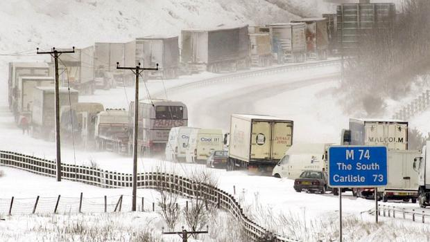 A shortage of lorry drivers may affect Christmas deliveries