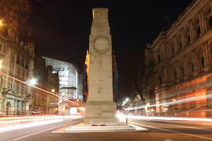 The Cenotaph in London, taken by AB Chris Sellers, which won the Royal Navy Association Award (AB Chris Sellers/MoD/Crown Copyright)