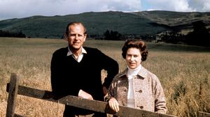 The Queen and Duke of Edinburgh celebrated their silver wedding anniversary at Balmoral in 1972 (PA)