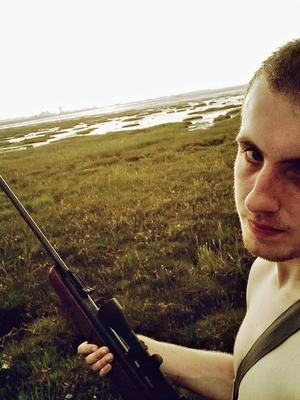 Ethan Stables posing with a rifle (Greater Manchester Police/PA)