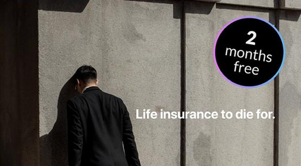 A Facebook ad for life insurance company Dead Happy has been banned for trivialising suicide (ASA/PA)