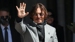Johnny Depp was greeted with cheers when he arrived at the Royal Courts of Justice for the final day of his libel action against The Sun newspaper (Yui Mok/PA)