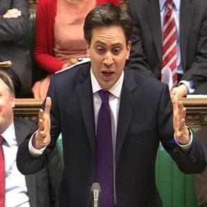 Labour Party leader Ed Miliband asks David Cameron: 'Could the Prime Minister tell us, is there anything he could organise in a brewery?'
