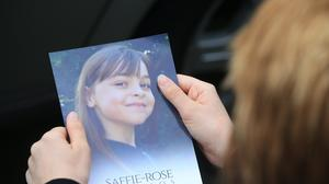 Saffie Roussos died in the Manchester Arena bombing (Danny Lawson/PA)