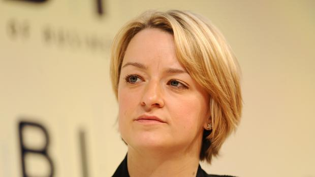 The Conservative Party Facebook advert features an edited clip of BBC political editor Laura Kuenssberg (Dominic Lipinski/PA)