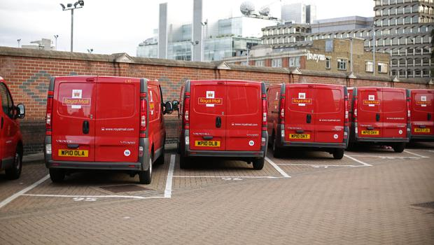 Royal Mail is behind schedule in its transformation programme despite boosting profits and revenues (Yui Mok/PA)