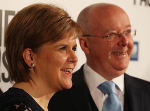 First Minister Nicola Sturgeon and husband Peter Murrell are both expected to give evidence to the committee (Andrew Milligan/PA)
