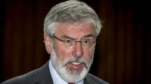 Gerry Adams says the British Brexit plans are unworkable and unrealistic. (Liam McBurney/PA)