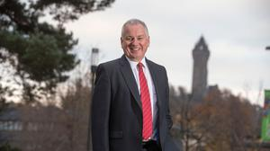Former first minister Lord McConnell said Scottish Labour has to 'rebuild' following the resignation of Richard Leonard as leader (University of Stirling/PA)