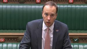 Matt Hancock hinted at reform of Public Health England (House of Commons/PA)