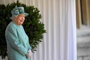 The Queen during a ceremony at Windsor to mark her official birthday in June (Toby Melville/PA)