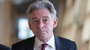 Richard Leonard stood down as Scottish Labour leader more than three years after winning the job. (Jane Barlow/PA)