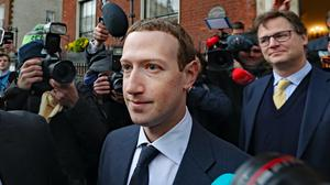 File photo dated 02/04/19 of Facebook boss Mark Zuckerberg who is to offer public support for international tax reform which would see tech giants pay more tax in Europe.