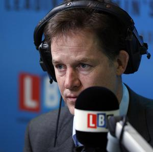 """Nick Clegg has said people should not be put off studying at university by """"myths"""" about the cost."""