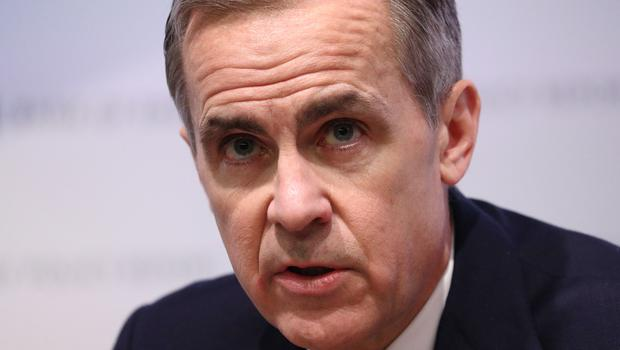 Bank of England boss Mark Carney said the economic impact of the coronavirus in the UK is containable but warned the global growth hit is set to be worse than seen during the Sars outbreak (PA)