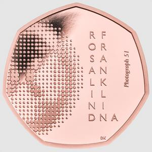 The coin is being released ahead of what would have been Franklin's 100th birthday (The Royal Mint/PA)