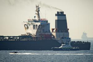 Jeremy Hunt offered to facilitate the release of the Grace 1 tanker held in Gibraltar (Marcos Moreno/AP/PA)