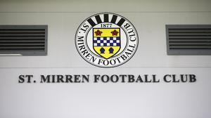 St Mirren have urged people to stay at home (Jeff Holmes/PA)