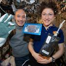 The astronauts baked the cookies in space (NASA/PA)