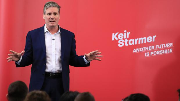 Labour MP Sir Keir Starmer has received the backing of Usdaw (Peter Byrne/PA)