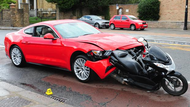 Clifford ploughed into the moped, killing pillion passenger Sobhan Khan (Met Police/PA)