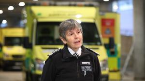 Metropolitan Police Commissioner Dame Cressida Dick said a 'small minority' of people are still failing to follow the coronavirus regulations (Jonathan Brady/PA)