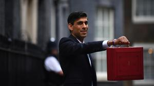 Chancellor Rishi Sunak announced £600 billion of capital spending over the next five years (Victoria Jones/PA)
